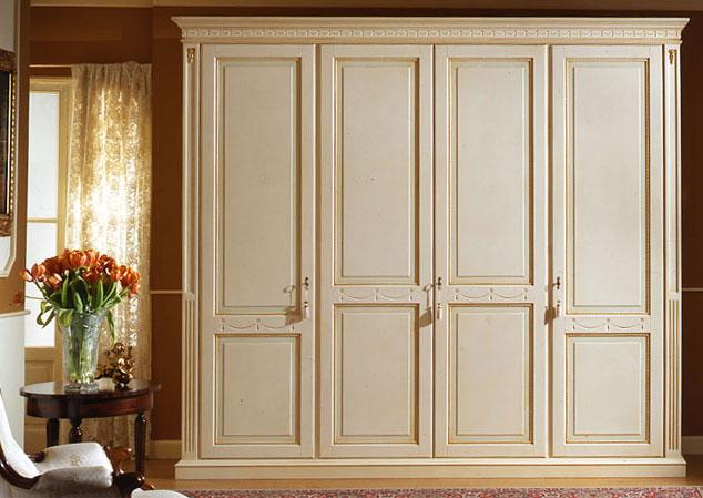 Armadi classici bianchi mobili for Armadi classici economici